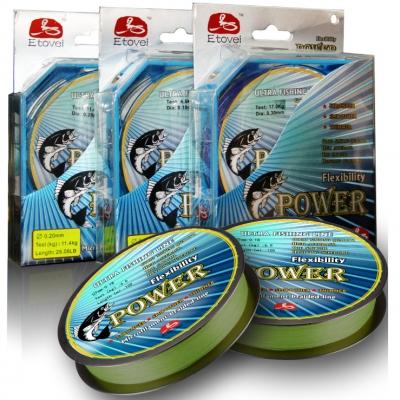 Плетеный шнур Etovei Power 100м